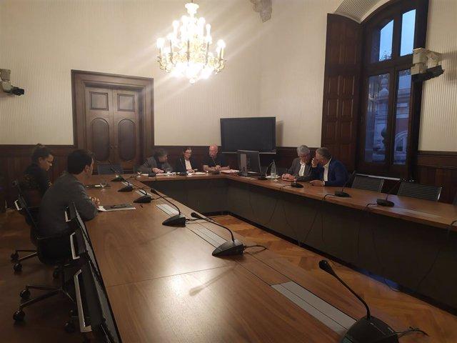 La comissió d'investigació dels atemptats del 17-A al Parlament