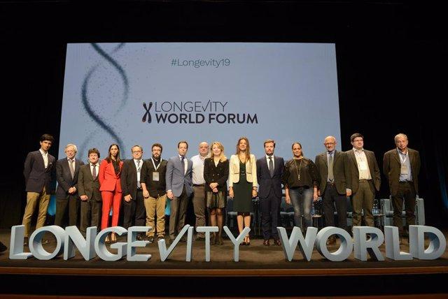 Inauguración de la segunda edición del Congreso de longevidad en València