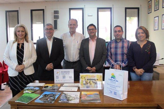 Presentación de la participación de la Axarquía en la Feria de Turismo de Valladolid