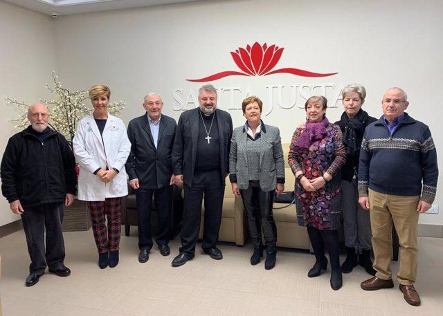 Residencia Santa Justa inaugura seis boxes con las últimas tecnologías para pacientes en cuidados paliativos