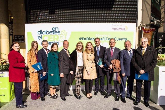 Jornada de Fundación AstraZeneca para concienciar sobre la diabetes