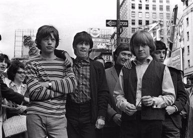 Fotografies inèdites mostren per primera vegada els humils inicis dels Rolling Stones (GETTY IMAGES / WILLIAM LOVELACE)