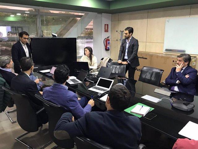Reunión en la Consejería de Economía con emprendedores para trazar un diagnóstico previo a la elaboración del Plan General de Emprendimiento.