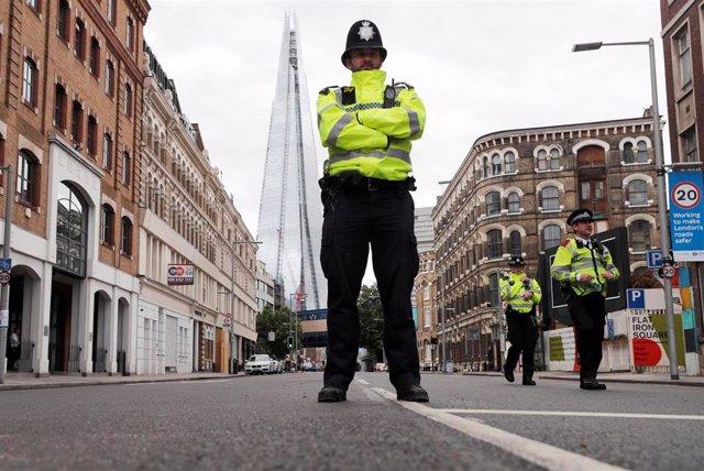 Agente de la Policía Metropolitana de Londres