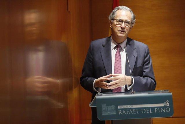 El consejero de Educación y Juventud de la Comunidad de Madrid, Enrique Ossorio, participa en las Jornadas Neurocientíficas y Educativas de la Fundación Querer.