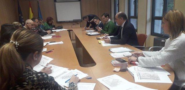 Reunión Mesa Sectorial.
