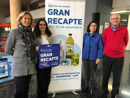 Los bancos de alimentos catalanes necesitan 9.000 voluntarios para el Gran Recapte