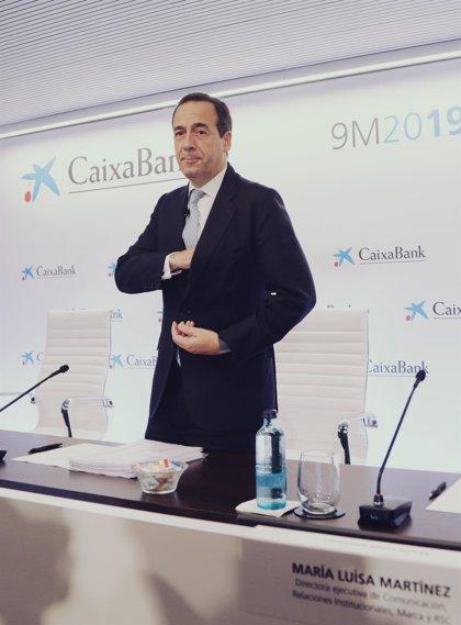 Gortázar (CaixaBank) cita la rentabilidad, la transformación y el apoyo social como retos de la banca