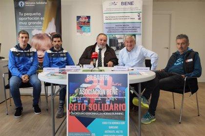 Bilbao acoge una carrera de 24 horas en apoyo a las personas afectadas por enfermedades neuromusculares