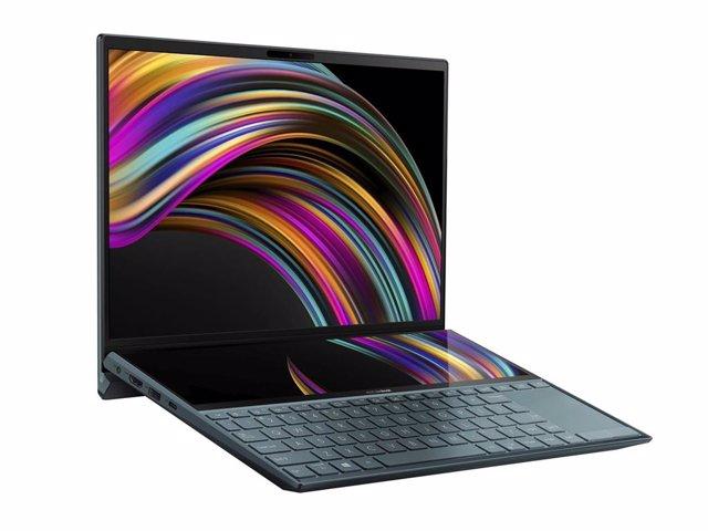 El ordenador ZenBook Duo de Asus.