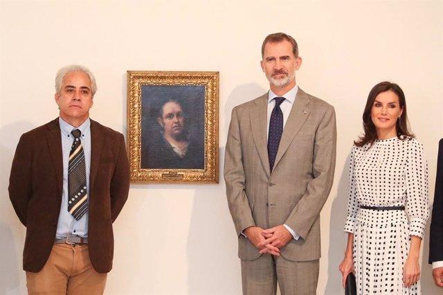 Los Reyes Felipe y Letizia en el Museo Nacional de Bellas Artes