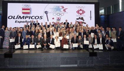 El COE rinde homenaje a los deportistas olímpicos de Sarajevo y Los Ángeles 1984