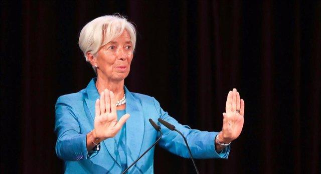 BCE.- Lagarde se estrena como presidenta del BCE en un acto de homenaje a Wolfgang Schaeuble