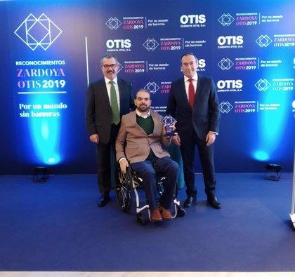 Zardoya Otis premia a seis personas y proyectos que contribuyen a lograr la accesibilidad universal