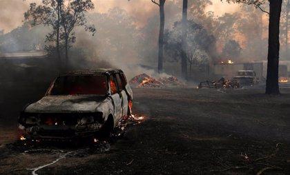 Más de 270 hogares destruidos por los incendios en Australia