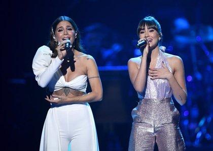 Aitana cumple su sueño en los Grammy Latinos acompañada por Miguel Bernardeau