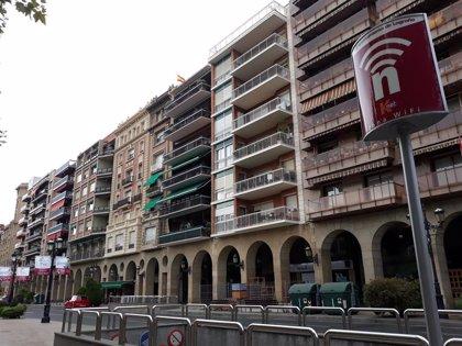 Tres heridos esta mañana en dos accidentes de tráfico en el centro de Logroño