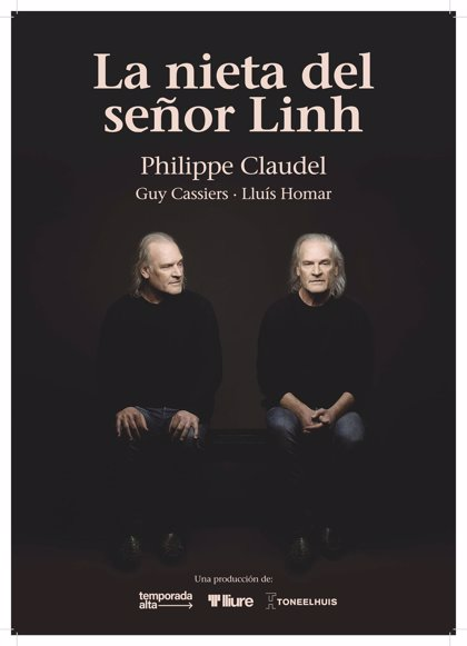 Lluís Homar llega mañana al Teatro Bretón con 'La nieta del señor Linh', una obra de Philippe Claudel