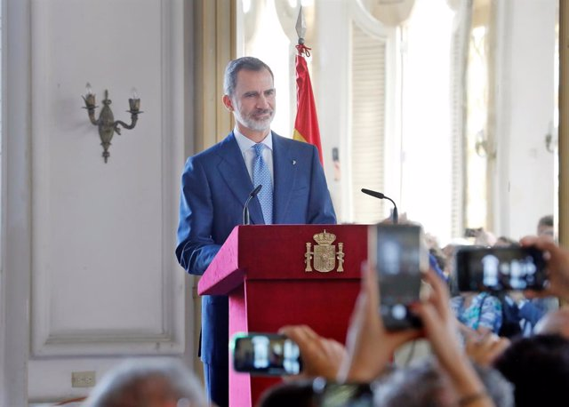 El rei Felip VI a l'Havana.