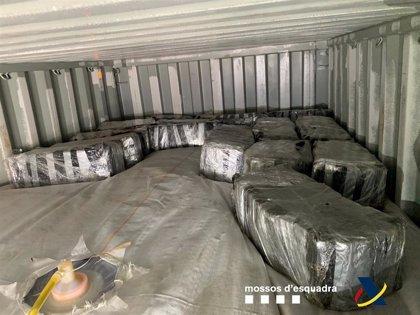 Incautados 500 kilos de cocaína ocultos en un contenedor en el Puerto de Barcelona