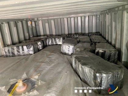 Sucesos.- Incautados 500 kilos de cocaína ocultos en un contenedor en el Puerto de Barcelona