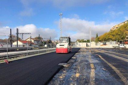 El aparcamiento de la estación del AVE de Granada estará acabado antes de fin de año