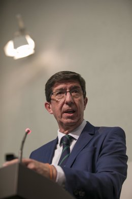 El vicepresidente de la Junta, Juan Marín.