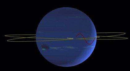 Dos lunas de Neptuno protagonizan una coreografía perpetua