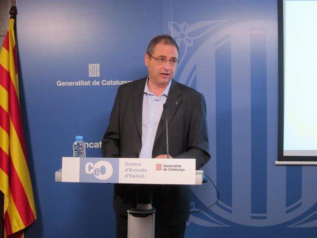 El director del CEO, Jordi Argelaguet (archivo)