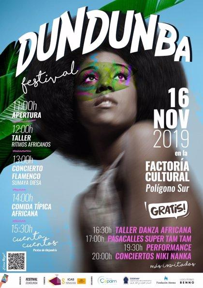 La cultura africana será protagonista este sábado en el Polígono Sur de Sevilla a través del Festival Dundunba