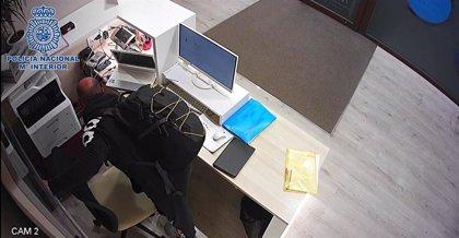 Detenido el autor de un robo con fuerza en un establecimiento de la zona centro de Logroño