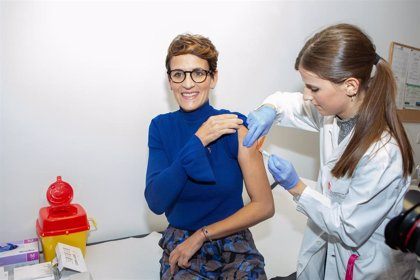 En Navarra se han vacunado frente a la gripe más del 50% de las personas mayores de 65 años