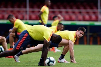 James se lesiona en un entrenamiento con Colombia
