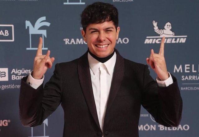 Alfred García, en la alfombra roja de los Premios Ondas 2019