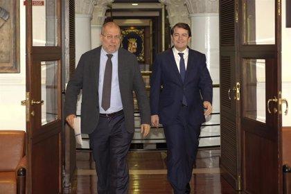Mañueco e Igea avalan la unidad de su gobierno para cuatro años
