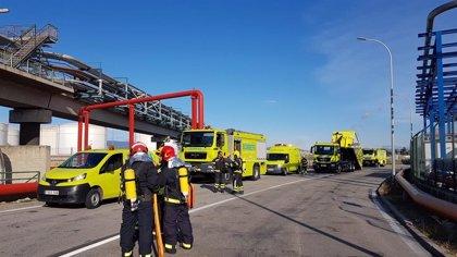 El Puerto de Tarragona, Tepsa y Protección Civil realizan un simulacro de emergencia