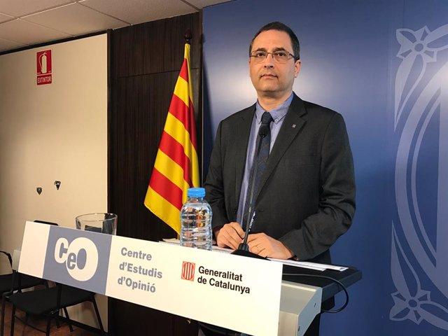 El director del CEO, Jordi Argelaguet.
