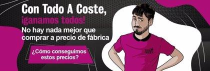 'Todo a Coste', la nueva tienda online que ofrece electrodomésticos y teléfonos a precio de coste