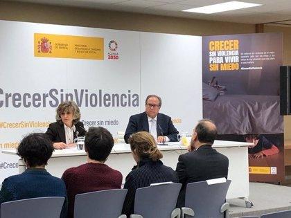 """El Gobierno lanza una campaña contra la violencia en la infancia mientras la ley sobre este tema está """"lista"""""""