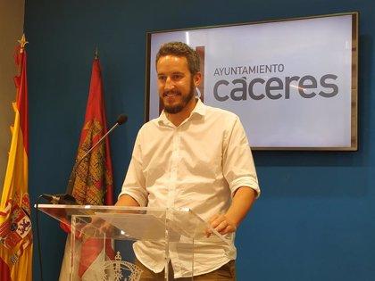 El PSOE mantiene que gobernará en solitario en Cáceres ante las crisis de Ciudadanos y Vox en el ayuntamiento