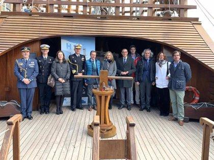 La Nao Santa María acoge en Washington la presentación de Huelva como destino turístico