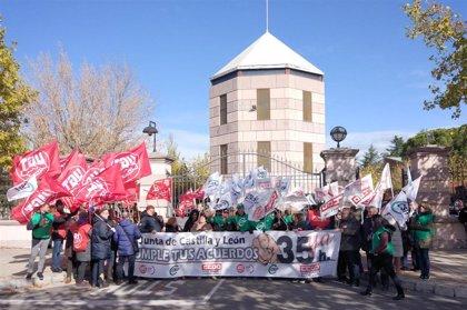 """Los sindicatos critican las """"amenazas"""" de Igea y piden una propuesta seria de las 35 horas"""
