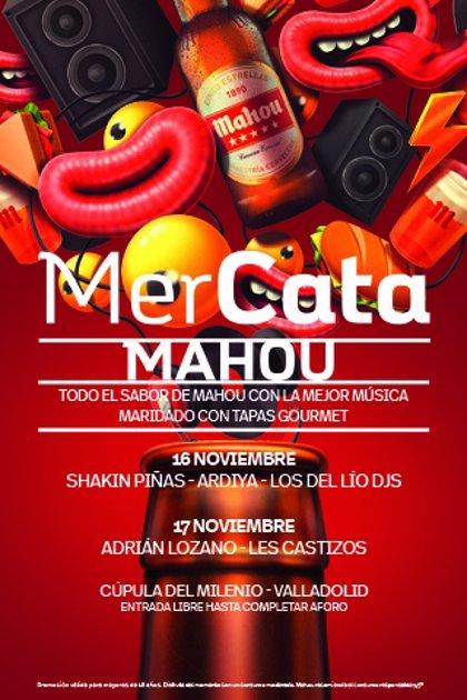 La Cúpula del Milenio de Valladolid acoge el fin de semana 'Mercata Mahou' que marida música, cerveza y bocatas gourmet