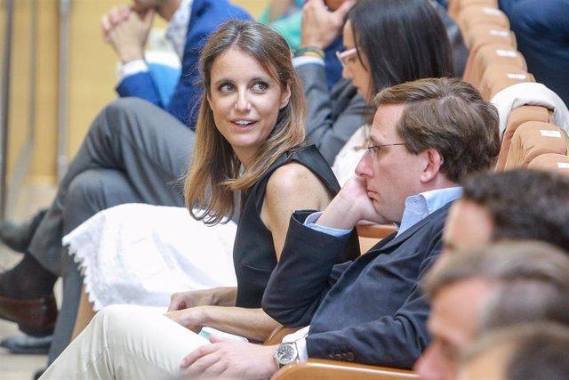 La concejala de Cultura, Turismo y Deportes en el Ayuntamiento de Madrid, Andrea Levy.