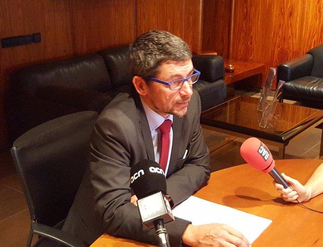 El presidente de la Cambra de Comercio de Barcelona, Joan Canadell.