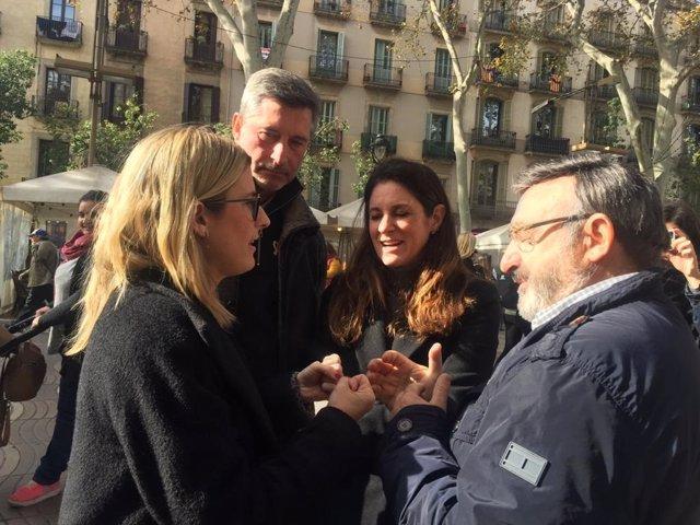 La portaveu de JxCat a l'Ajuntament de Barcelona.