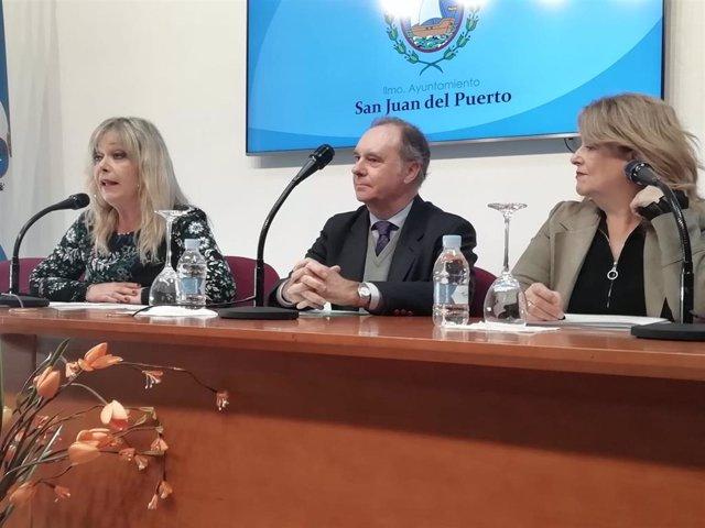 Clausura de un taller de Empleo en San Juan del Puerto.