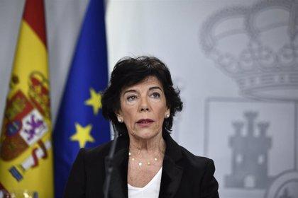 Celaá recuerda que el Gobierno del PP coordinó las pruebas del Informe PISA donde se han detectado anomalías