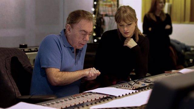 Andrew Lloyd Webber y Taylor Swift