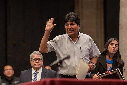 """Bolivia.- Morales aplaude la designación de la nueva cúpula del Congreso e insiste en llamar a un """"diálogo nacional"""""""